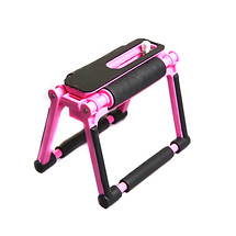 Gary Fong Flip Cage Tabletop Tripod (Cotton Candy Pink)