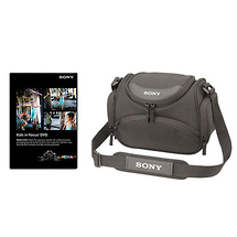 Sony Carrying Case & Educational DVD Bundle