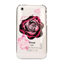 iLuv ICC716 Plastic Case with Flower Graphics for iPhone