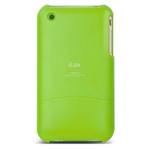 iLuv ICC73 Acrylic Protective Case (Green) for iPhone