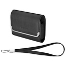 Slim Horizontal Leather Case (Black)