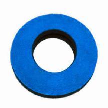 Bluestar Round Microfiber Eyepiece Cushion (Small, Blue)