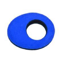 Bluestar Oval Microfiber Eyepiece Cushion (Small, Blue)