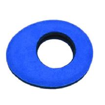 Bluestar Oval Microfiber Eyepiece Cushion (Large, Blue)
