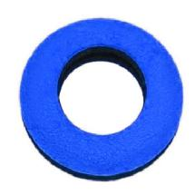 Bluestar Round Microfiber Eyepiece Cushion (Large, Blue)