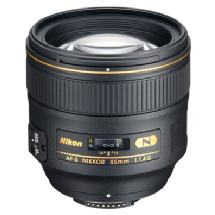 Nikon AF-S Nikkor 85mm f/1.4G Classic Portrait Lens