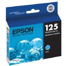 Epson 125 Cyan DuraBrite Ultra Ink Cartridge