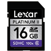 Samys Camera 16GB Platinum II 100x Class 6 Secure Digital (SDHC) Card
