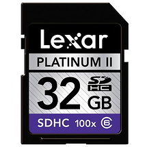 Samys Camera 32GB Platinum II 100x Class 6 Secure Digital (SDHC) Card