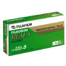 Fujifilm Reala 120 Color Negative Film ISO-100, Single Roll