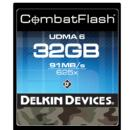 Delkin Devices | 32GB Compact Flash Memory Card | DDCFCOMBAT32GB