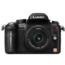Panasonic DMC-GH2 Digital SLR Camera with 14-42mm Lens (Black) - Open Box*