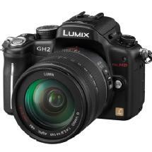 Panasonic DMC-GH2 Digital SLR Camera with 14-140mm Lens (Black)