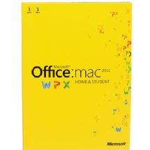 Microsoft MS Office for Mac Home and Student 2011