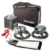 Broncolor Senso 22 Two Head Kit
