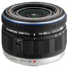 Olympus AF 14-42mm f/3.5-5.6 ED M.Zuiko Digital Lens (Black)
