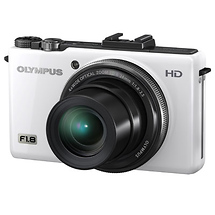 Olympus XZ-1 Digital Camera (White)