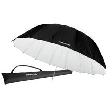 Westcott 7' White/Black Parabolic Umbrella (White/Black)
