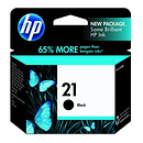 HP 21 Black Ink Cartridge for the HP OfficeJet J3680 Printer