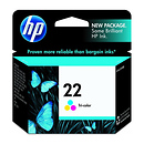 HP 22 Tricolor Ink Cartridge for the HP OfficeJet J3680 Printer