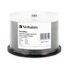 Verbatim 16x DVD+R Printable Spindle (50 Pack)