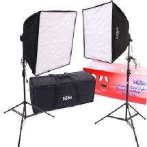 RPS Studio 20 x 20' Quick-Folding Softbox Kit with Daylight Cool Flourescent Lamps