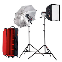 Photoflex Samy's Exclusive Starflash 150 2-Head 300 Watt Portrait Kit