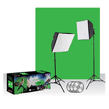 Westcott Photo Basics uLite Green Screen Video Lighting Kit - Open Box*