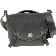 Crumpler 5 Million Dollar Home Shoulder Bag (Black / Gunmetal Gray)