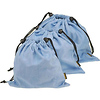 Microfiber Cleaning Pouch (Blue) - 3.1 x 5.1