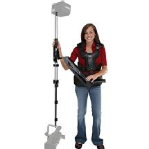 Varizoom Navigator Arm and Vest with FlowPod Stabilizer - Supports 8.0 lbs