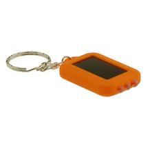 Land C. Corporation Solar Powered LED FlashLight Keychain
