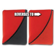 Pc Treasures FlipIt! 2-in-1 Reversible Netbook Sleeve (Red)