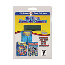 Pc Treasures 2GB USB Pocket Drive with All-Time Favorite Games