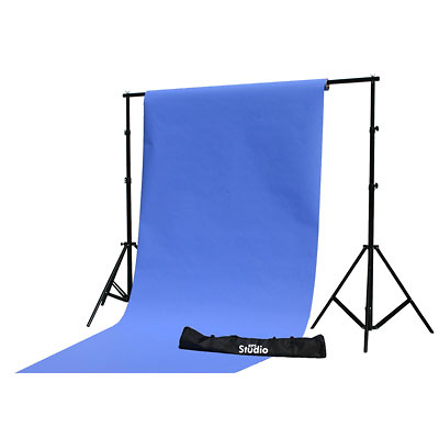10x10 ft. Portable Background Econo Stand Image 0