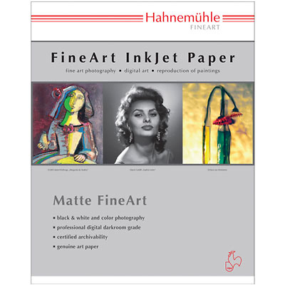 Hahnemuhle 17 X 22 Photo Rag Paper 25 Sheets 10641437