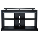 Proforma 2-in-1 TV Stand (Satin Black) for TVs up to 46