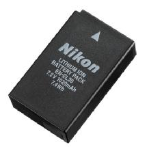 Nikon EN-EL20 Lithium-Ion Battery for Select Nikon Cameras
