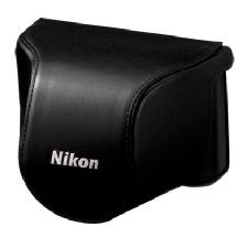 Nikon CB-N2000SA Leather Body Case Set (Black)