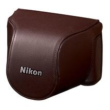 Nikon CB-N2000SA Leather Body Case Set (Brown)
