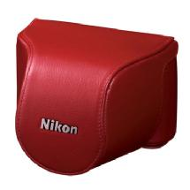 Nikon CB-N2000SA Leather Body Case Set (Red)