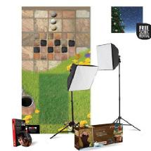 Westcott uLite 2-Light 1000-watt Softbox Kit with Educational Floormat System, and includes Coupon for FREE Wescott Backdrop Rental