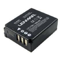 Lenmar DLP007 Rechargeable Lithium-Ion Battery - Replacement for Panasonic CGA-S007A Battery