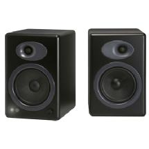 Audioengine A5+ Premium Powered Bookshelf Speakers (Black)