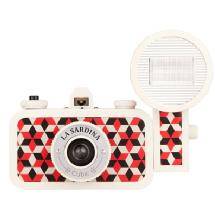 Lomography La Sardina Camera & Flash - Cubic