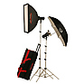 AKC640K 645w/s Basic Studio 2 Light Soft Box Kit