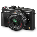 Panasonic | Lumix DMC-GX1 Digital Camera with 14-42mm G X Vario PZ Lens (Black) | DMCGX1XK