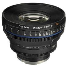 Zeiss 21mm f/2.9 T Compact Prime CP.2 Lens for EF EOS Mount