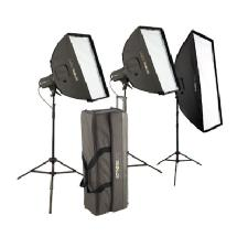 Westcott Strobelite Plus Two Monolight Kit - Plus Additional Monolight Promotion