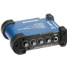 Samson S-amp 4 Channel Stereo Headphone Amplifier